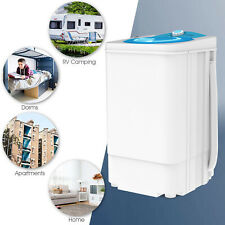 17.6 LBS Compact Mini Dryer Spinner Draining Laundry Home Dorms 1500 RPM White