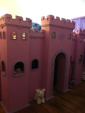 princess castle bunk bed twin