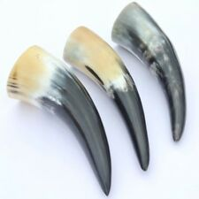 Viking / Medieval Style Drinking Horn 3 Set For Re-enactment & LARP Camping Use