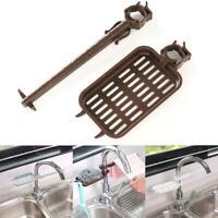 Sink Rack Holder Expandable Storage Drain Basket Kitchen Baseroom