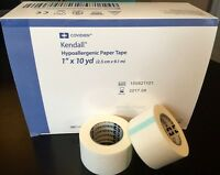 """Covidien Kendall Paper Tape - 1"""" x 10 yds - 12 Rolls/Box - Surgical Medical"""