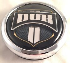 DUB Baller Custom Wheel Center Cap 1003-07 Chrome Pop In NEW