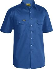 Bisley Cool Lightweight Short Sleeve Drill Shirt #BS1893
