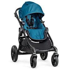 Poussette de promenade bleus dossier réglable pour bébé