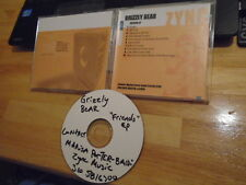 RARE PROMO Grizzly Bear CD Friend EP Band Of Horses CSS Dirty Projectors BEIRUT