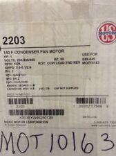 """US Motors MOT10163 MOTOR; 1 HP, 208-230/460/60/1, 6.3"""" DIA., 1075 RPM"""
