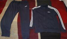 Adidas Herren Trainingsanzug Jogginganzug Sportanzug Fitness dunkelblau
