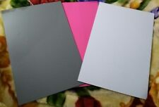 set of 3 chalkboards (pink, white, gray) 10.5 in x 16 in NWOT