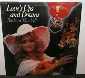 BARBARA MANDRELL LOVE'S UPS AND DOWNS (VG+) DO-2098 LP VINYL RECORD
