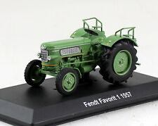 Fendt Favorit 1 grün 1957 Traktor 1:43 Hachette/UH Modellauto