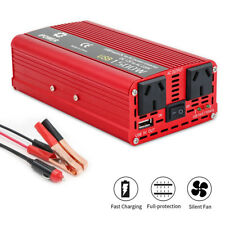 Boat Car 1500W converter power inverter DC 12V to AC 240V invertor USB charger