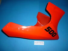 CARENA INFERIORE PUNTALE FAIRING COWLING KAW GPZ 500 S ROSSO 8/91 550285337B1