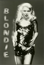 Blondie - Glitter Music Poster - 24x36 Shrink Wrapped - Debbie Harry 786