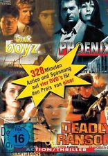 DVD-BOX NEU/OVP - 4 x Action - Hot Boyz / Phoenix / Death Valley / Deadly Ransom
