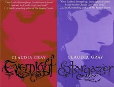 CLAUDIA GRAY ___ 2 LIBRO SET ___ EVERNIGHT SERIE ___ NUOVO _ FREEPOST UK