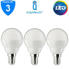 3x LED E14 Small Edison Screw Lamp Light Bulb Cool Day White 390lm 5W Golf Ball