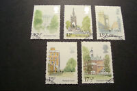 GB 1980 Commemorative Stamps~Landmarks~Very Fine Used Set~(ex fdc)UK Seller