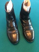 Women's Dublin Paddock Boots, leather, good used condition, Black Sz. 7