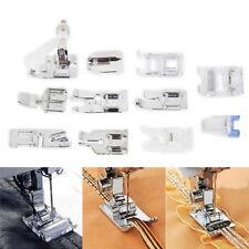 11 Stück Nähfüsse im Set Nähfuß inländische Nähmaschine Presser Fuß Zubehör NV
