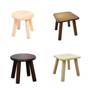 Small stool solid wood change shoe stool tea table creative children Stool