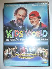 Kids World DVD family comedy movie Christopher Lloyd Blake Foster 2003 NEW!