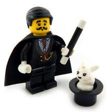 NEW LEGO MAGICIAN w/Rabbit & Hat Minifig set magic minifigure figure toy cape