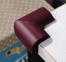4x Eckenschutz Tisch Kantenschutz Eckschutz Möbel Kinder Baby Kindersicherung Br