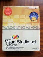 NEW SEALED Microsoft Visual Studio 2003 Professional Academic RETAIL BOX