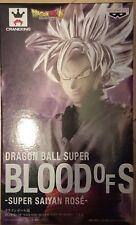 BANPRESTO BLOOD OF SAIYANS Goku Black Rose DRAGON BALL SUPER Z Japan