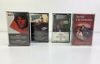 Lot of 4 - VTG Cassette Tapes Classic Rock Doors, Eagles, Dylan, Tom Petty