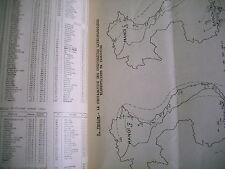 science météo séisme volcan magnétisme océanographie  France d' outre mer 1937