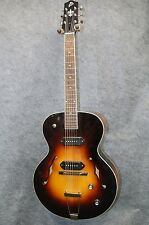 THE LOAR LH-319-VS ARCHTOP Acoustic Electric P90 Guitar *B1089