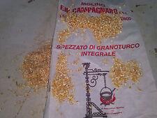 10 Kg. di SPEZZATO di GRANOTURCO INTEGRALE mangime naturale per galline ovaiole