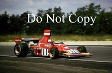 Clay Regazzoni Ferrari 312 B3 French Grand Prix 1974 Photograph