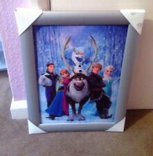 BN LARGE 3D FROZEN PICTURE WITH SILVER FRAME