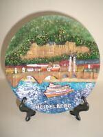 Teller Heidelberg Posten mit 10 Stück,absol.Tiefstpreis,Souvenir Neuware