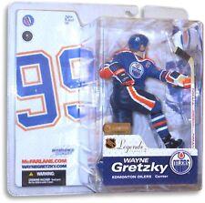 Wayne Gretzky McFarlane Legends Series 2 Figure Edmonton Oilers Blue Jersey