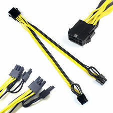 PCI-e 8pin to Dual 8Pin / PCIe 8pin-2x(6+2pin) Graphics Video Card Power Cable C
