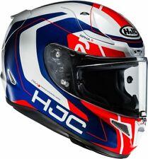 Motorrad Helm HJC R-PHA11 Chakri MC21 Farbe: Weiß/Blau/Rot Gr: L (59)