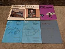 Classical Sheet Music Lot of 14 books Piano Organ Violin