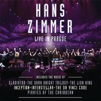 LIVE IN PRAGUE (2CD) - ZIMMER,HANS  2 CD NEW!