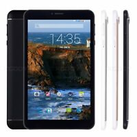 8'' inch Android Tablet PC 3G Dual Sim Quad Core 8GB Unlocked WIFI GPS Phablet