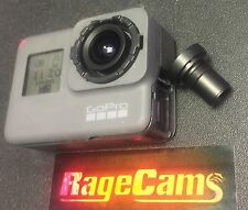 Modified RageCams GoPro HD Hero5 Camera W/Rectilinear Wide Flat Lens 170 degree