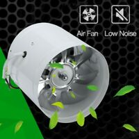 """Wall Ceiling Air Exhaust Fan Slim Low Profile Grill Plastic Damper 3/"""" Duct 50CFM"""