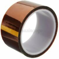 33m x 50mm 5cm High Temperature Heat Resistant Polyimide Tape Mobile Repairs B