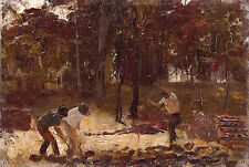 Tom Roberts, Turning the Soil 1886, Fade Resistant HD Art Print or Canvas
