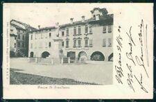 Reggio Emilia Scandiano Piazza ABRASA cartolina RT1626