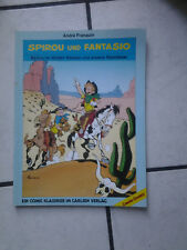 "Spirou y Fantasio Classics-comic álbum carlsen ""Wild. Westen"" 1. lainadmisibilidad. 1987"
