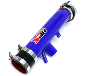 HPS Performance Post MAF Air Intake Tube Kit Blue for 14-16 Lexus IS250 F-Sport