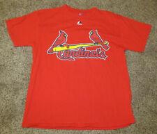 St. Louis Cardinals T Shirt Baseball Mens Size M Medium #19 Jon Jay Majestic